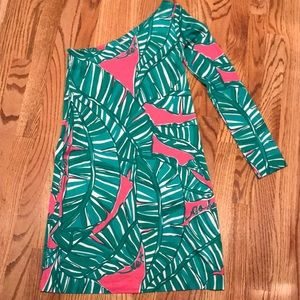 Lilly Pulitzer One Sleeve Dress